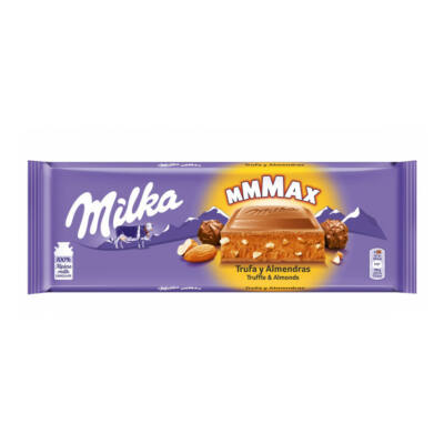 Milka Almond Trüffel táblás 300g