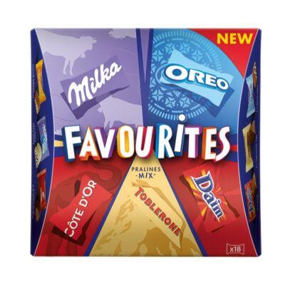 Milka Favourites Assortment Desszert 159g