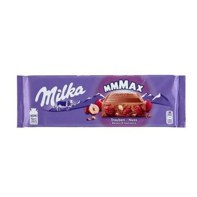 Milka Mazsola-Mogyoró táblás csokoládé 270g