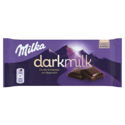 Milka Darkmilk Ét-Tej 85g