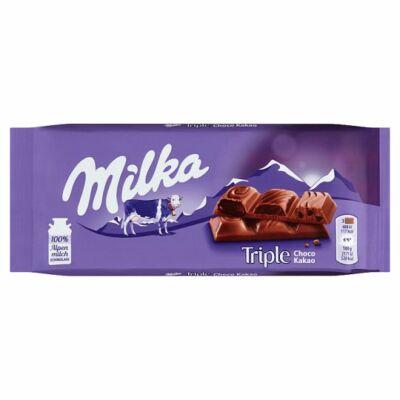 Milka Tripla Csokis 90g