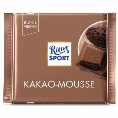 Ritter Sport Kakaómousse tejcsokoládé 100g /11/