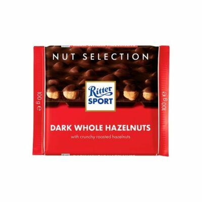 Ritter Sport Selection csokoládé Ét-egészmogyoró 100g