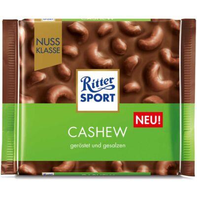 Ritter Sport Selection Tejcsokoládé Kesudióval 100g