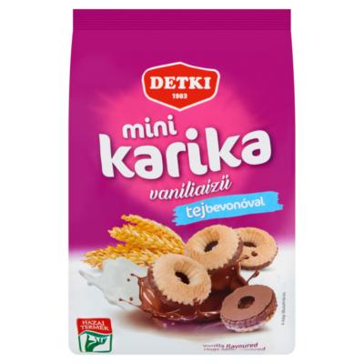 Detki Mini Karika vaníliaízű teasütemény Tej 150g