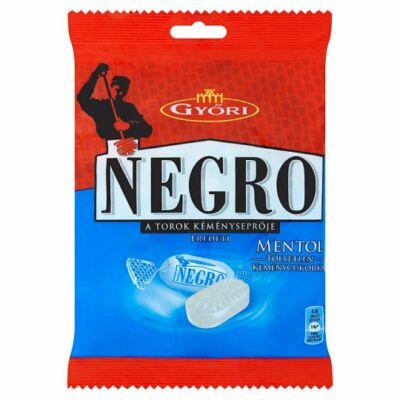 Győri Negro   cukor 159 g mentol