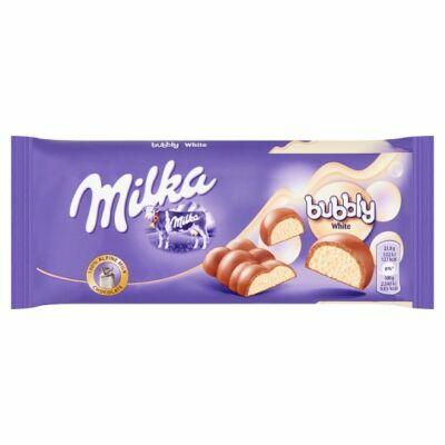 Milka         tejcsoki 95 g bubbly white