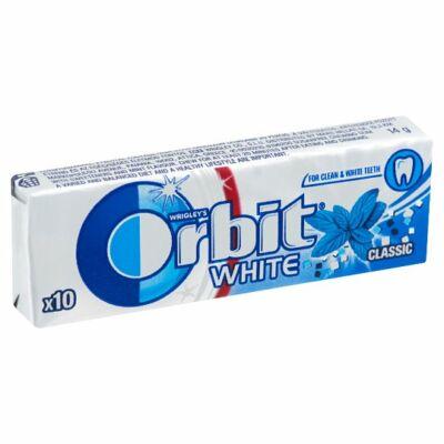 Orbit         rágó drazsé 14g 10db white classic