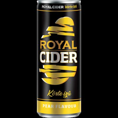 Royal Cider Körte 0,25l DOB