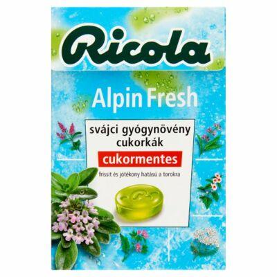 Ricola gyógynövényes cukorka 40g Alpin Fresh