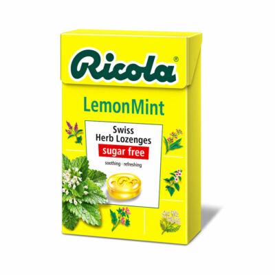 Ricola gyógynövényes cukorka 40g Citromfű