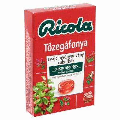 Ricola gyógynövényes cukorka 40g Tőzegáfonya