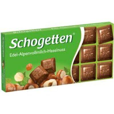 Schogetten Táblás Mogyorós csokoládé 100g