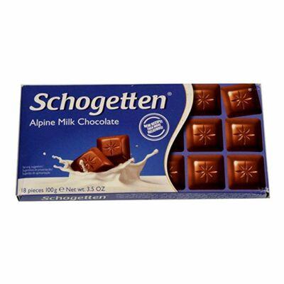 Schogetten csokoládé 100g Milk Chocolate