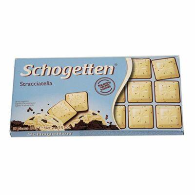 Schogetten csokoládé 100g Stracciatella
