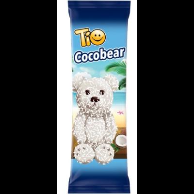 Tio Cocobear fehér bev.és kók. márt. piskóta kakaó ízű kr. 60g