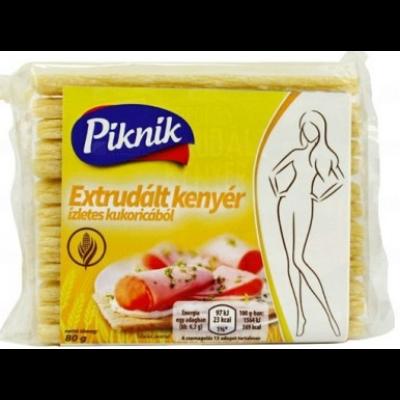 Piknik extrudált kenyér kukoricás 80g /20/
