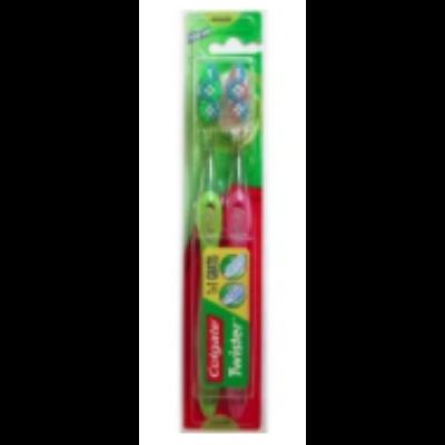 Colgate fogkefe Twister medium 1+1db