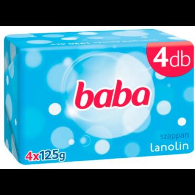 Baba szappan lanolinos 4*125g